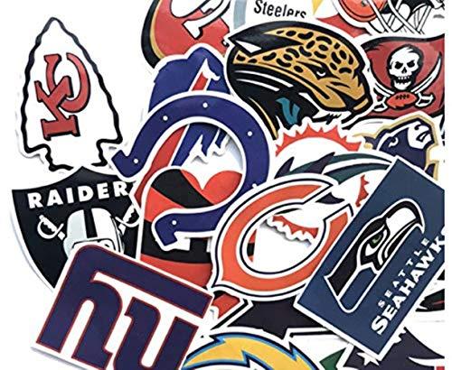 Handd 32 Stück / Stück Fußball Team Logo Klassische Mode Aufkleber Motorrad und Koffer Spielzeug Aufkleber Aufkleber Skateboard Aufkleber - Team-logo Iphone Fall