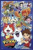 1art1 Yo-Kai Watch Poster et Cadre (Plastique) - Characters (91 x 61cm)