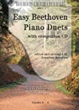 Easy Beethoven Piano Duets (+CD) : for piano 4 hands score