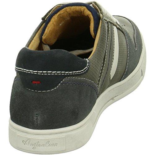 Australian Shoes 15.1171.02 Bogart, Sneaker uomo Bianco (winterweiß)