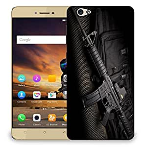 Snoogg Ak47 Designer Protective Back Case Cover For GIONEE S6