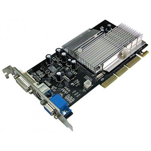 INNO 3D Grafikkarte Geforce FX5500 I-5500 G3F3 AGP-DVI, VGA, 256 Mb (Agp Fx5500)