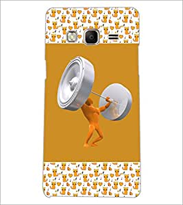 PrintDhaba Funny Image D-5694 Back Case Cover for SAMSUNG Z3 (Multi-Coloured)