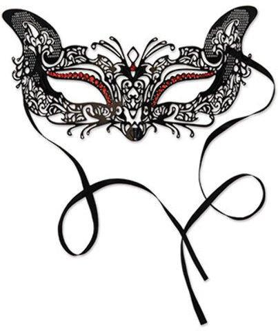 Beistle Party Dekoration Metall Filigran Masquerade Maske 54230-6Stück