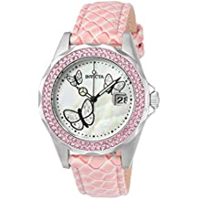 f9c30830abf1 Invicta 23548 Angel Reloj para Mujer acero inoxidable Cuarzo Esfera blanco