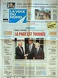 VOIX DU NORD (LA) [No 15580] du 26/07/1994 - ISRAEL ET JORDANIE - LA PAGE EST TOURNEE - ISBERGUES - UNE VENTE AUX ENCHERES PEU ORDINAIRE - PECHE - LA GUERRE DU THON - NUCLEAIRE - GREENPEACE ACCUSE LA COGEMA - LES SPORTS - CYCLISME - RWANDA - DANS LE CHAUDRON INFERNAL DE GOMA - LA MORT - ALAIN CARIGNON - LE JUGE L'A MIS EN EXAMEN