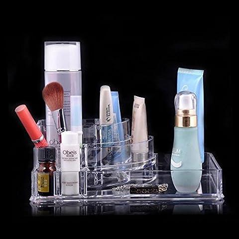 Spritech (TM) Escritorio Organizador de Maquillaje Organizador de cosméticos joyas y Cosméticos de almacenamiento de cajas, style-15, Size:5
