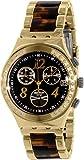 Swatch Damen-Armbanduhr Irony ycg405gc Gold Edelstahl Swiss Quarz