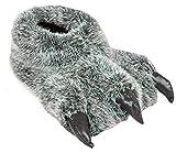 Zapatillas Divertidas para Hombre con diseño de Oso de Monstruo, Color Gris, Talla 45/46 EU