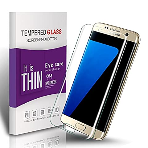 Film Protection Samsung S7 Edge - Vegbirt Galaxy S7 Edge Protection Écran, Verre