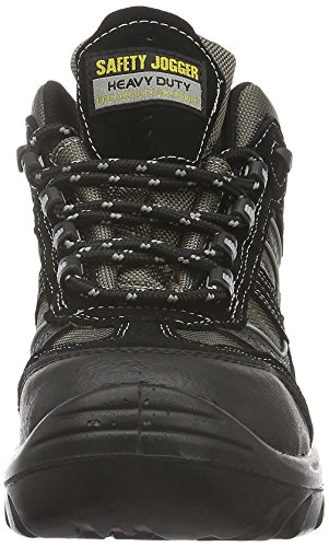 Safety Jogger CLIMBER, Scarpe antinfortunistiche unisex adulto Nero