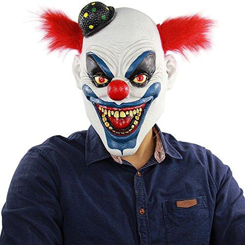 Maske Gesicht Neuheit Latex Horror Masken, Halloween Kostüm für Party, Schreckliche Kürbis Kopf Maske für Halloween Party ()