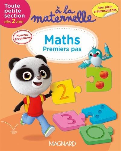 A la maternelle, Maths Toute petite section 2016 : Dès 2 ans