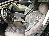 Sitzbezüge k-maniac | Universal grau | Autositzbezüge Set Komplett | Autozubehör Innenraum | Auto Zubehör für Frauen und Männer | NO1825251 | Kfz Tuning | Sitzbezug | Sitzschoner