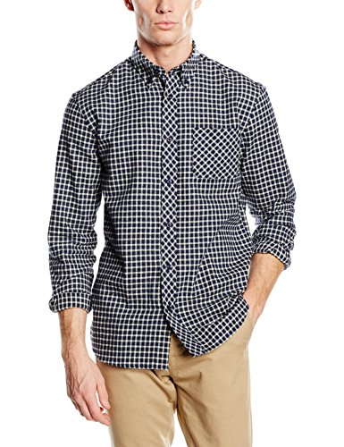 The Indian Face 15-002-01, Chemise Homme Cuadros (Cuadros)