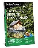 Wonderbox - Coffret Cadeau séjour - WEEK END INSOLITE ET GOURMAND - Séjours en tipis, cabanes, yourtes, roulottes, maisons d'hôtes de charme pour 2 personnes avec diner et petit-déjeuner