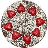 Pizza au Chocolat - Saint Valentin - Chocolat de Nouveauté - Cadeau de Chocolat Gourmet Chocolat, Coffret Cadeau de Chocolat