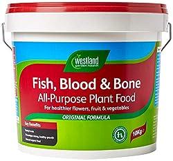 Westland Fish, Blood and Bone All Purpose Plant Food, 10 kg