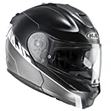HJC Motorrad-Helm RPHA MAX Evo zoomwalt mc5sf, schwarz, Größe L