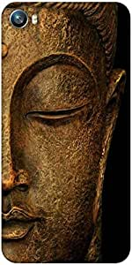 Snoogg Buddha actual Designer Protective Back Case Cover For Micromax Canvas Fire 4 A107