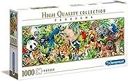 Clementoni 39517 HQC 1000pc Panorama Puzzle-Wildlife