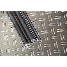 Stahl Rundstahl blank//roh//gewalzt ST37 S235 Rundeisen Rundmaterial Abmessungen /Ø 14 mm L/änge 100 cm