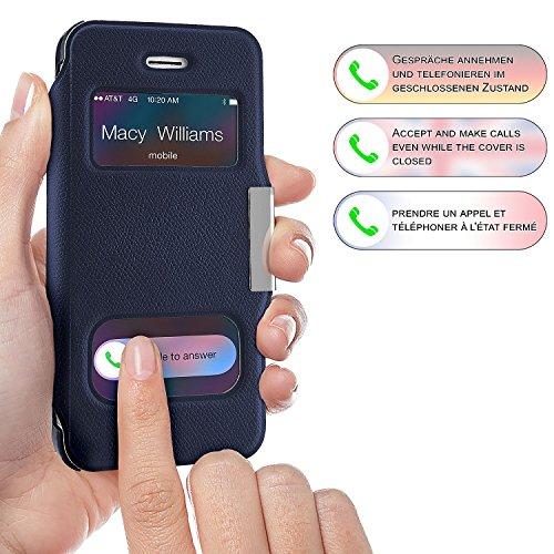custodia con finestra iphone 5s