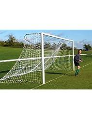 Filets Buts de Foot à 11 de 7,3x2,4x0,9x2,7 m, Cages avec des Oreilles (sans but!) [Net World Sports]