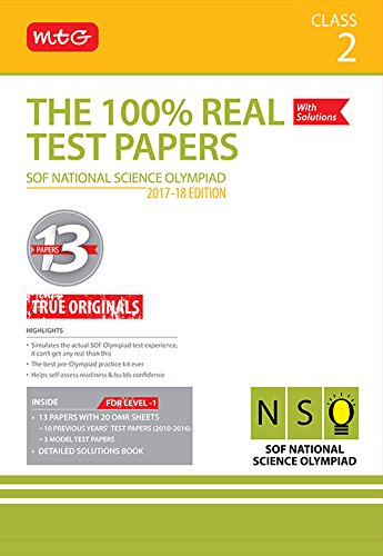 The 100% Real Test Papers (NSO) Class 2