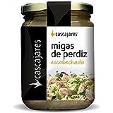 CASCAJARES - Migas de Perdiz escabechadas, dos perdices y media perfectas para ensalada.