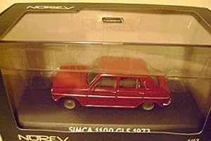 NOREV SIMCA 1100 GLS 1973 models cars 1/43 metal