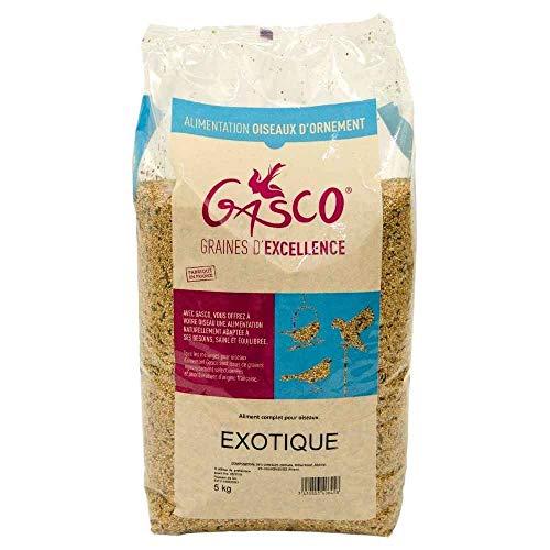 Gasco - Mélange de Graines pour Oiseaux Éxotiques - 5Kg