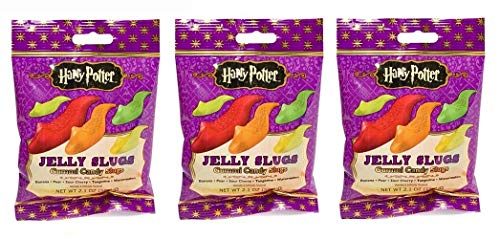 Jelly Belly - 3er Pack Slugs Harry Potter Schnecken (3 x 59 g)