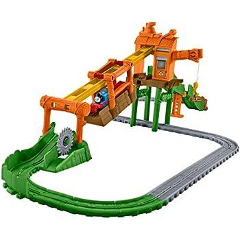 Il Trenino Thomas DVF73 Pista Demolizione al Porto TrackMaster