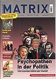 Matrix 3000 #97 2017 Nato Rolf Hochhuth Donald Trump Zeitschrift Magazin Heft Einzelheft