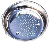Seb 792185Dünsteinsatz für Schnellkochtopf Edelstahl 4,5/6/7,5L Ø 220