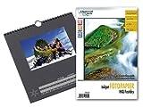 Your Design Fotokalender: Foto-Bastelkalender, schwarz, 23 x 24 cm inkl. Fotopapier (Bastel-Kalender)