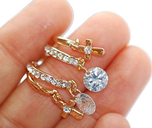 la-vivacita-regent-loop-croce-orecchini-con-cristalli-swarovski-18-ct-placcato-oro-regalo-per-donne-