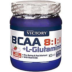 BCAA 8:1:1 + Glutamina 500g, Sabor Pink Lemonade. Con un plus de vitamina B6. Recuperación y Protección al más alto nivel