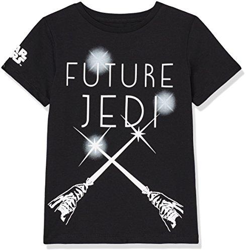 RED WAGON Jungen T-Shirt mit Star Wars-Print, Schwarz, 140 (Herstellergröße: 10 Jahre)