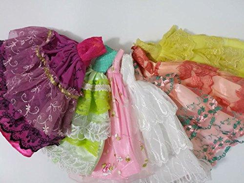Handmade Fashionistas Hochzeit Kleidung Prinzessinnen Kleider Für Barbie Puppe BK-020 (2er (Kostüme Geheimnisvolle Meerjungfrau Mädchen)