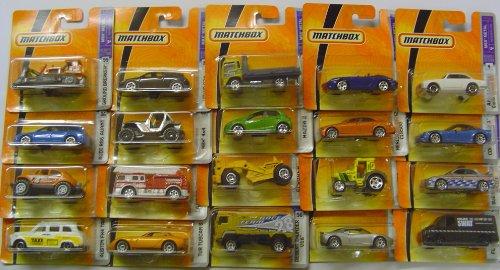 matchbox-set-of-twenty-random-cars-models