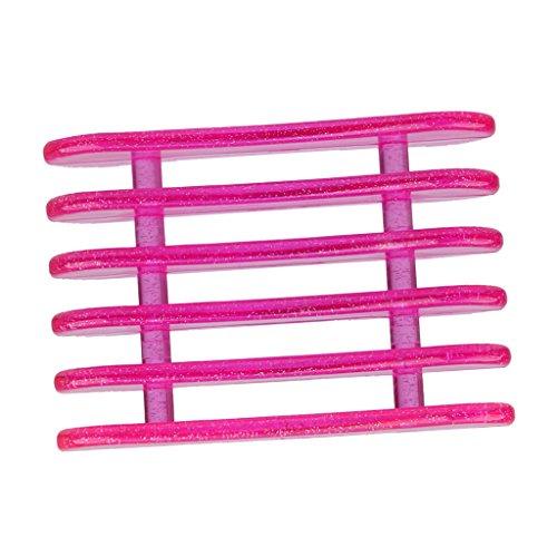Porte Stylo Nail Art 5-Compartiments Outil Organisateur de Pinceau Couleur Aléatoire