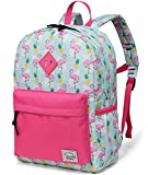 Kinder Schultasche, Flamingos Rucksack für Mädchen Kleinkind Rucksack Niedlicher Vorschul Rucksack mit Seitentaschen