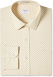 Arrow Mens Formal Shirt (8907378832597_ASTF0587_40_Beige)