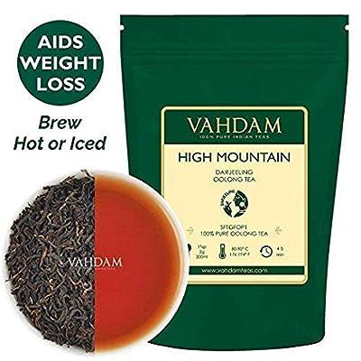 Feuilles de Thé Oolong de Haute Montagne de l'Himalaya (50 tasses), 100gr, Thé OOLONG POUR LA PERTE DE POIDS, thé 100% naturel Detox, thé de perte de poids, thé amincissant   Thé en vrac