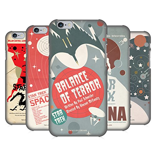 Official Star Trek Juan Ortiz Posters Tos Hard Back Case Compatible for Apple iPhone Phones 1