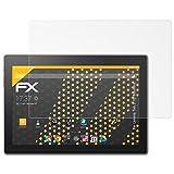 Lenovo Tab 3 10 Business Displayschutzfolie - 2 x atFoliX FX-Antireflex blendfreie Folie Schutzfolie