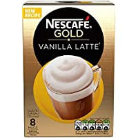 Cafe Menu Vanilla Flavour 8 Sachets 148 g (Pack of 6, Total