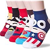 Cute Cartoon Character Socks Hero Series